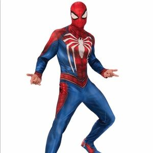 Spiderman gamer verse adult costume size X-large